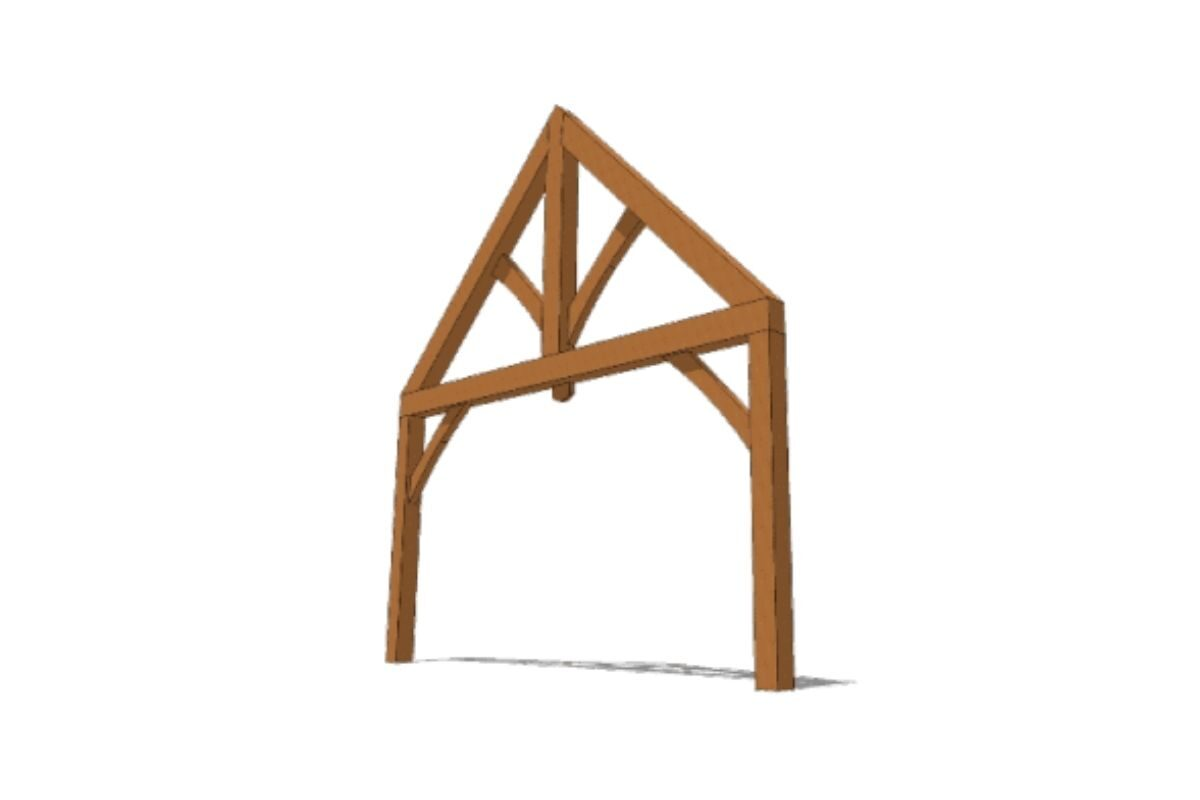 timber frame estrutural real
