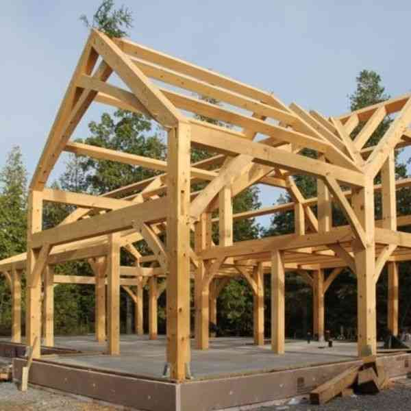 timber frame tipo