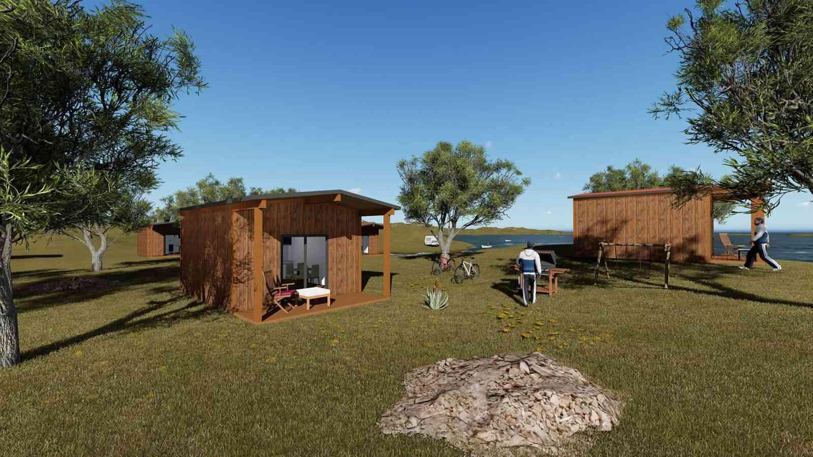 Casa de madeira modelo Solução Turismo 27m², em Portugal