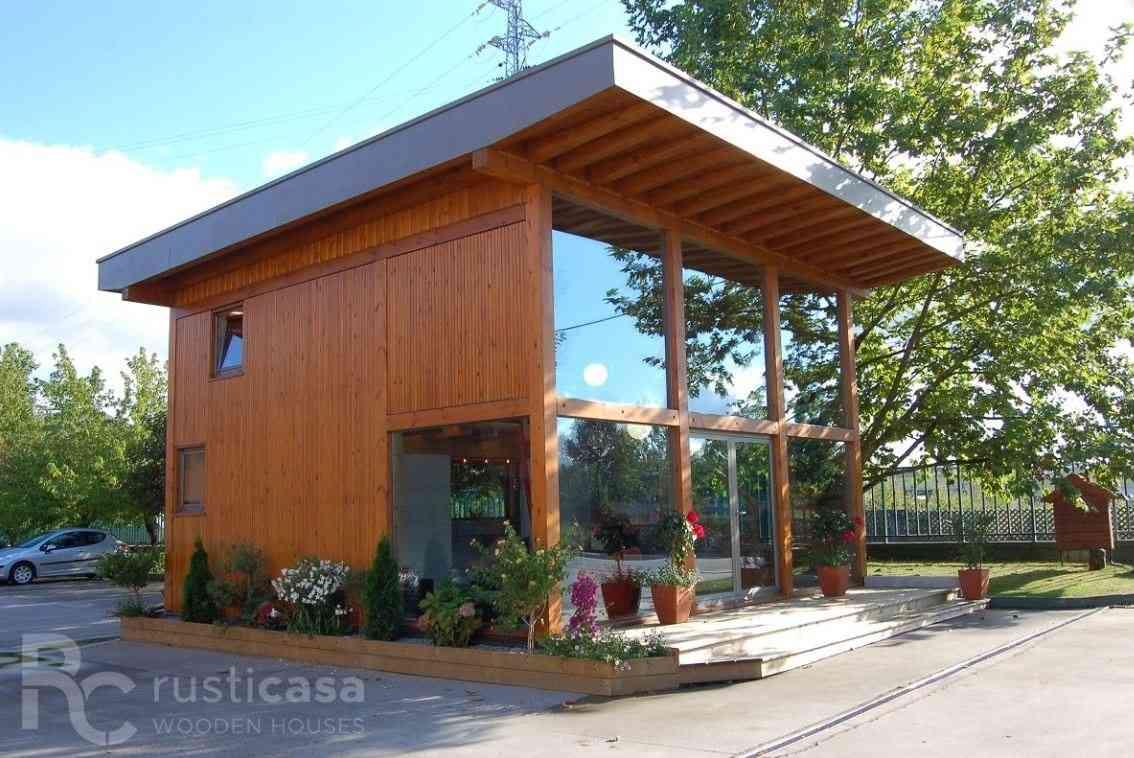 Casa de madeira modelo Casa de madeira 76 m², em Portugal