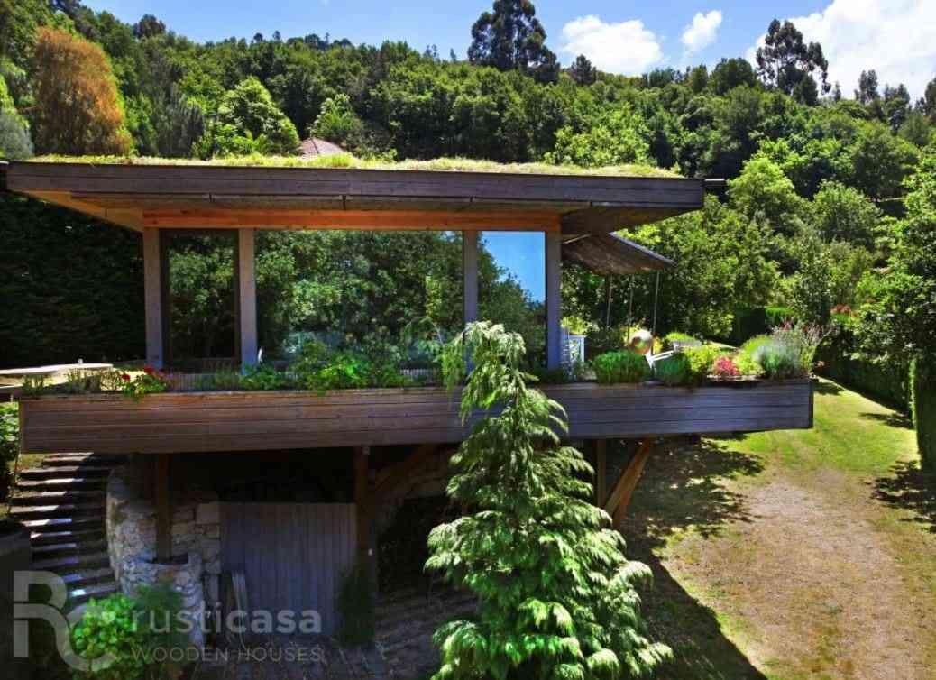 Casa de madeira modelo Casa de madeira 119 m², em Portugal