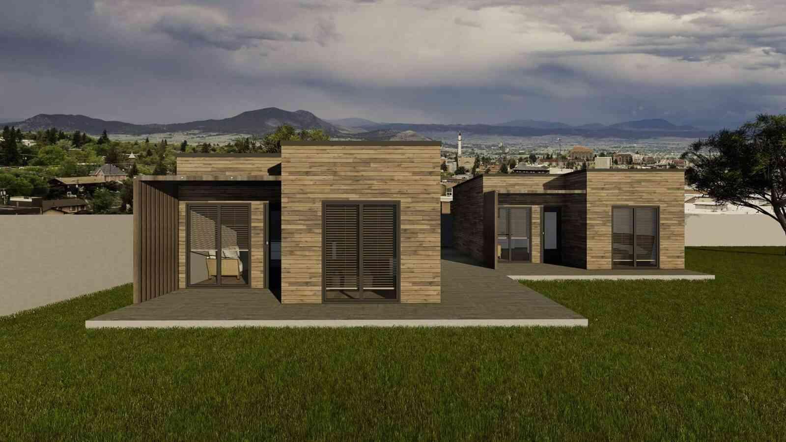 Casa de madeira modelo Casa Modular 51m², em Portugal