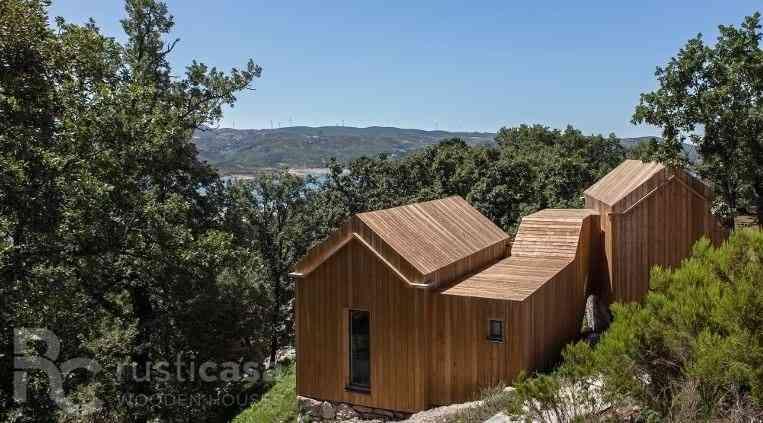 Casa de madeira modelo Casa de madeira de 100 m², em Portugal
