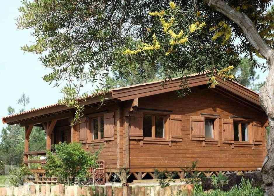 Casa de madeira modelo Casa de madeira de 78 m², em Portugal