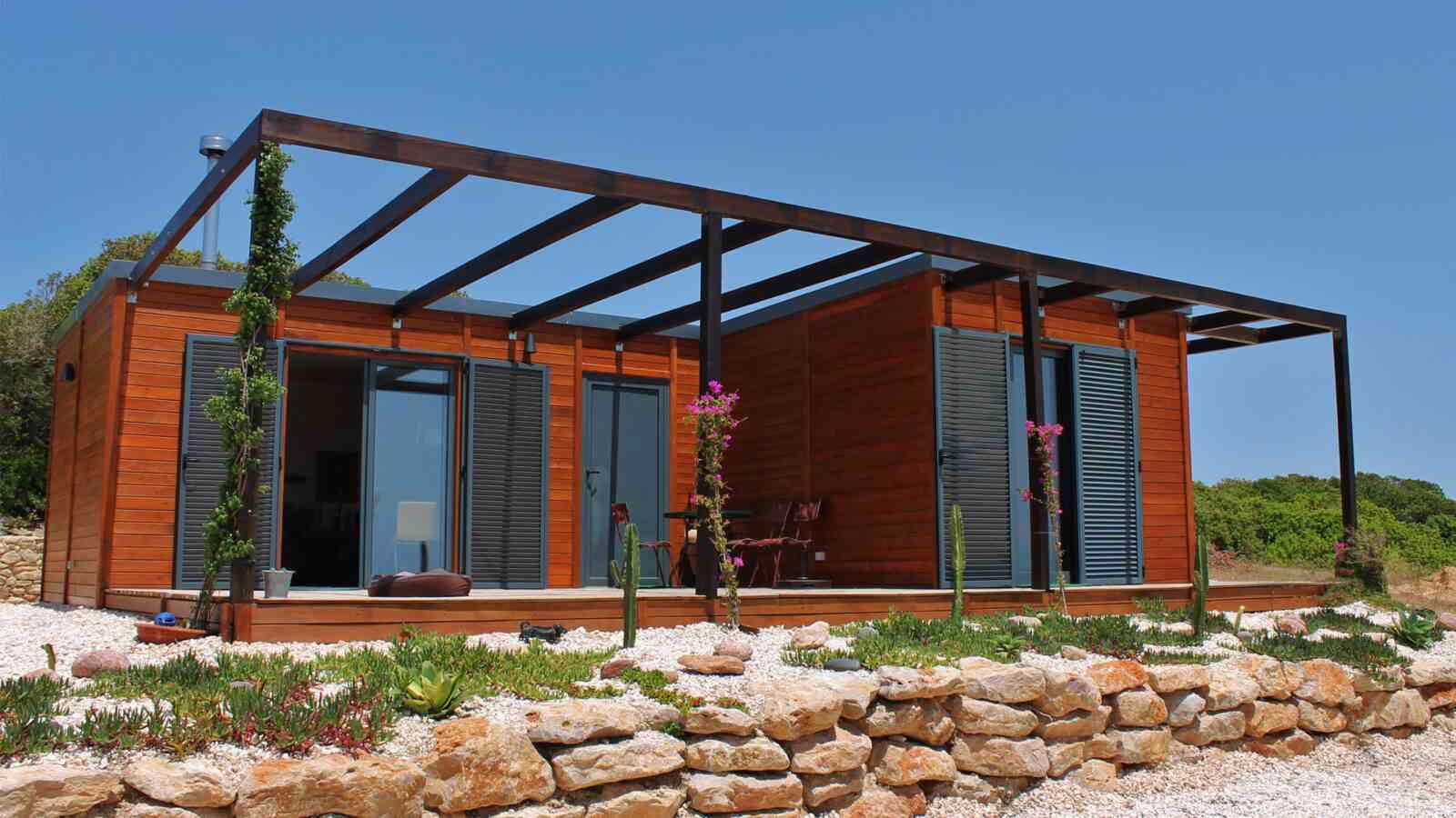 Casa de madeira modelo Casa Modular 100m², em Portugal