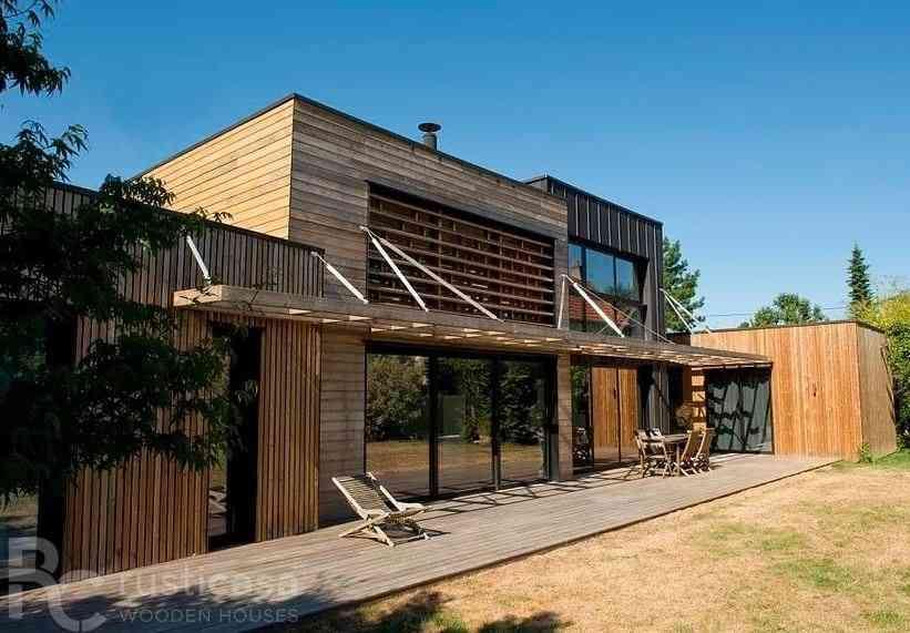 Casa de madeira modelo Casa de madeira de 218 m², em Portugal