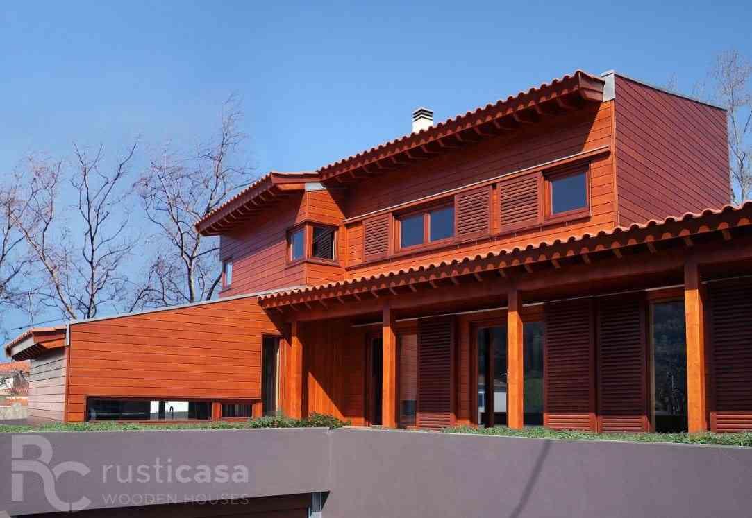 Casa de madeira modelo Casa de madeira de 210 m², em Portugal