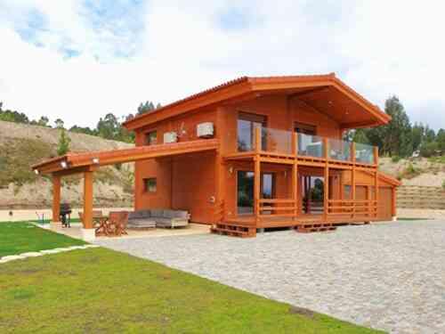 Casa de madeira modelo CASA DE MADEIRA T3 COM 240M², em Portugal