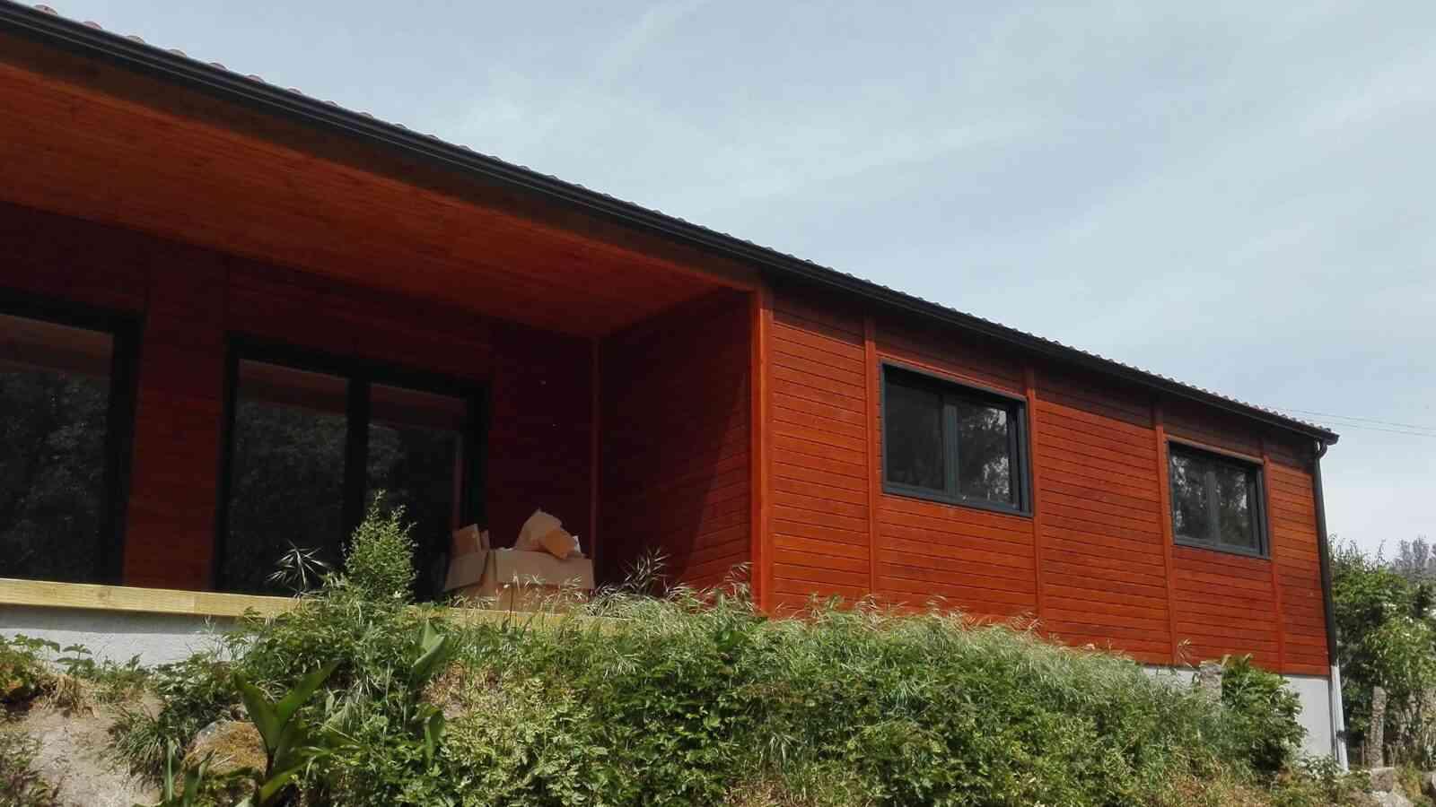 Casa de madeira modelo Modular 129m², em Portugal