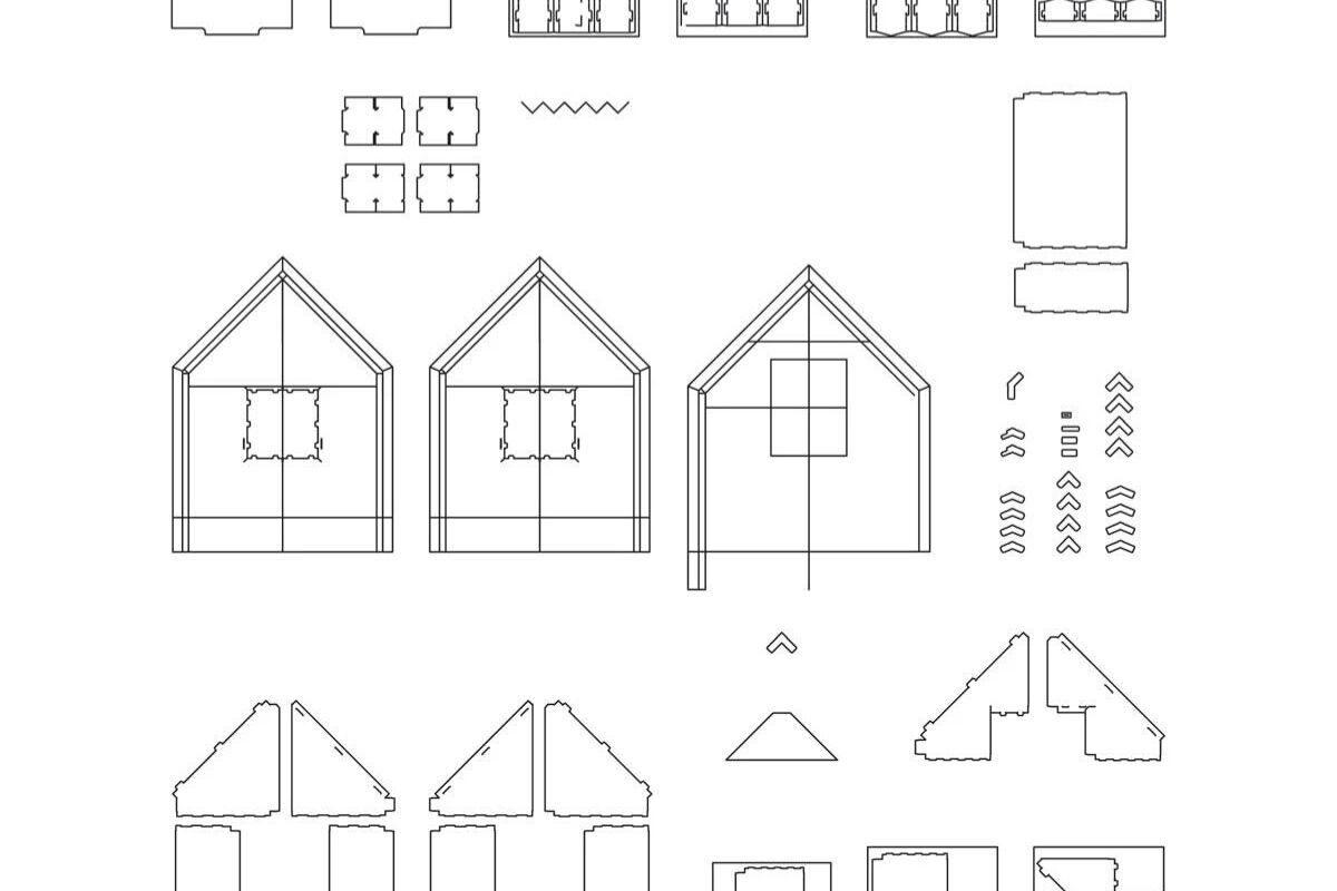 cabana de papel montagem 2