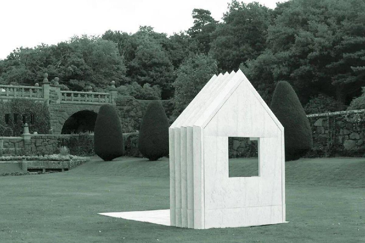 cabana de papel montagem 5