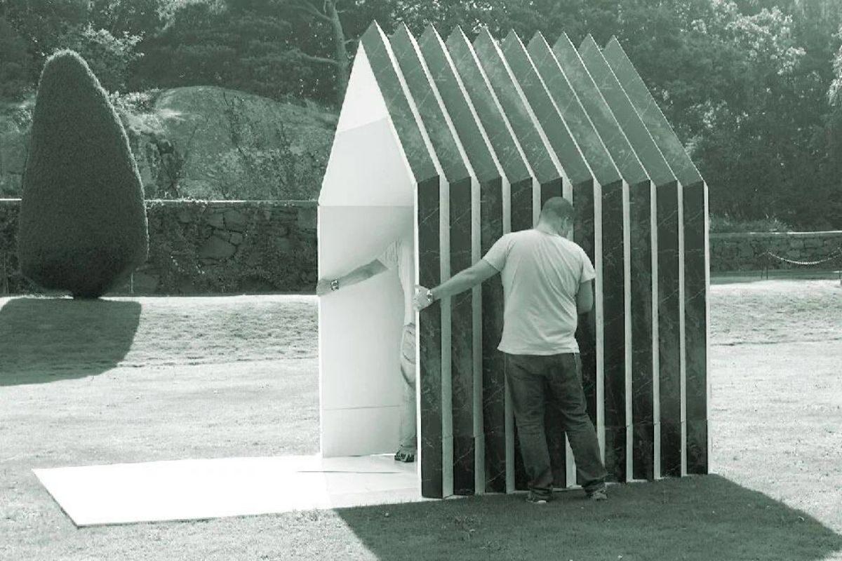 cabana de papel montagem 7