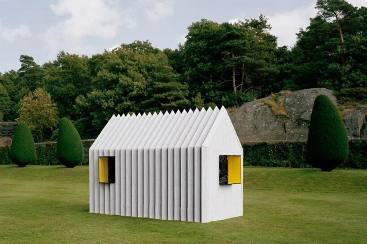 cabana de papel white arkitekter foto 1