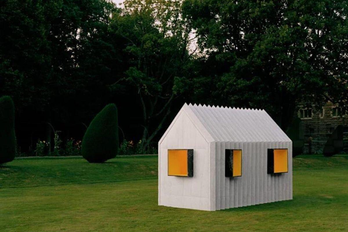 cabana de papel white arkitekter foto 2