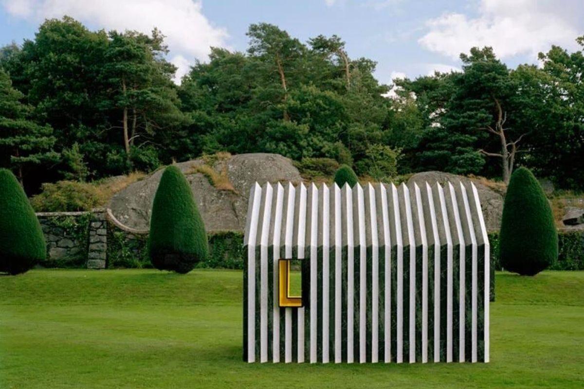 cabana de papel white arkitekter foto 3