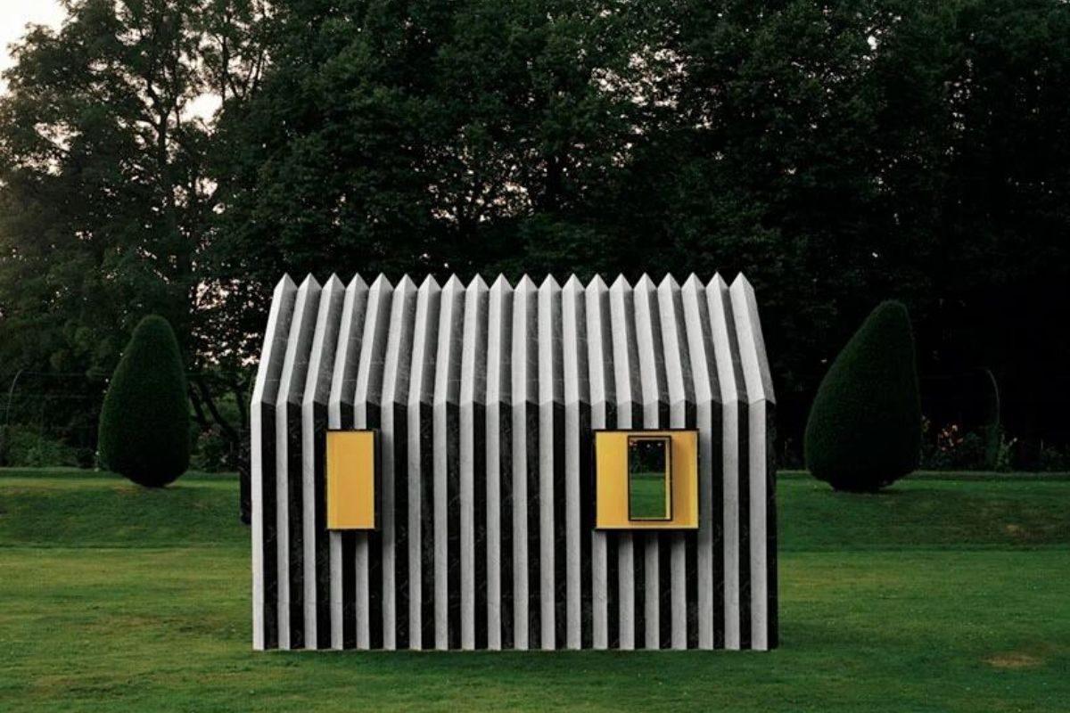 cabana de papel white arkitekter foto 4