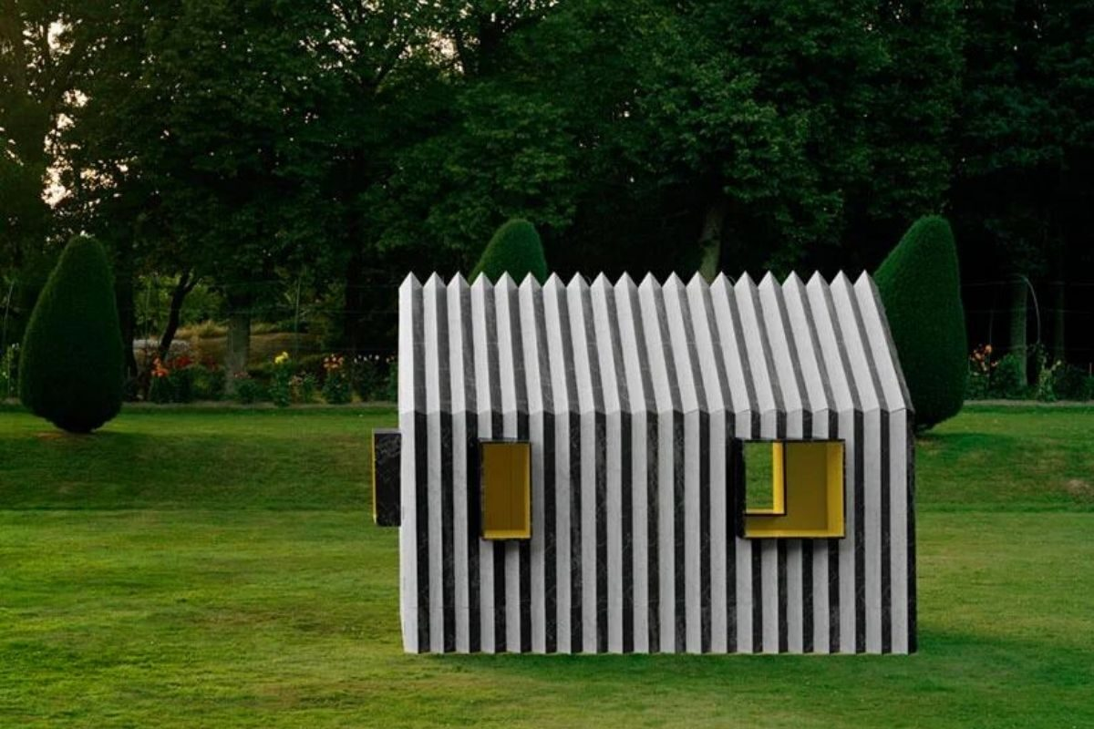 cabana de papel white arkitekter foto 5