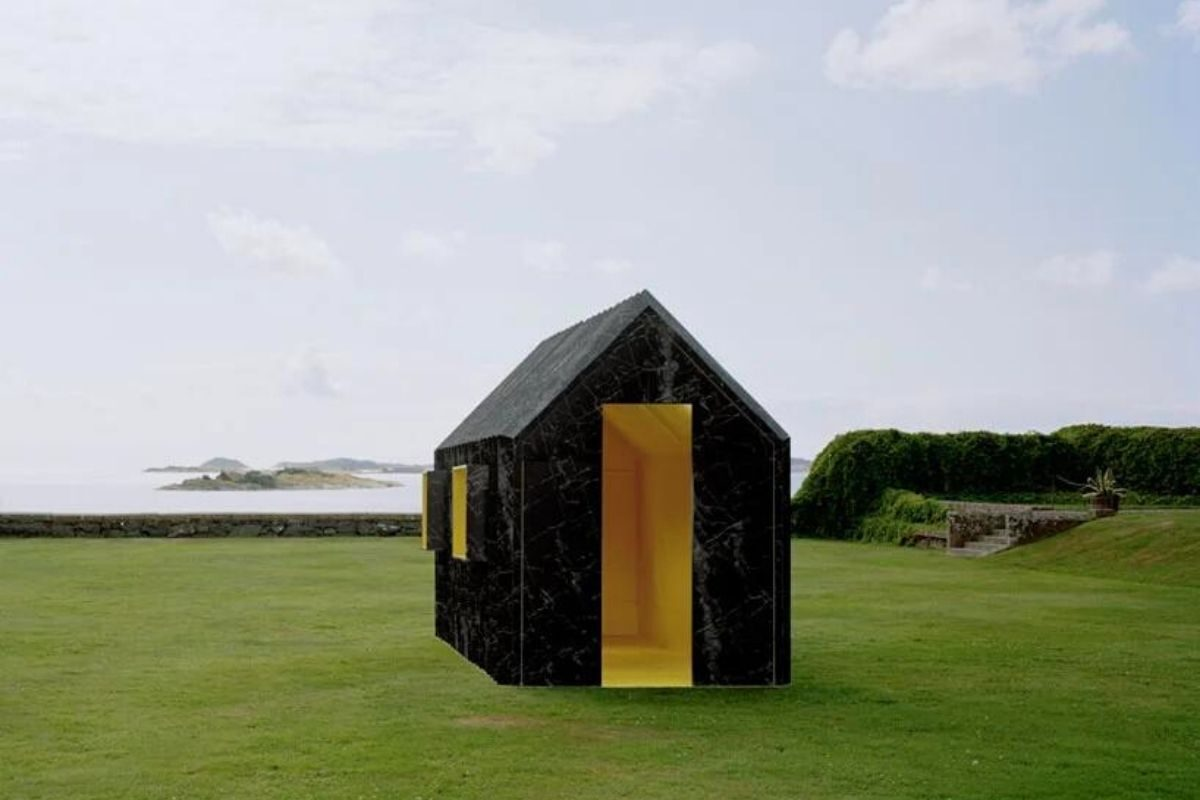 cabana de papel white arkitekter foto 8