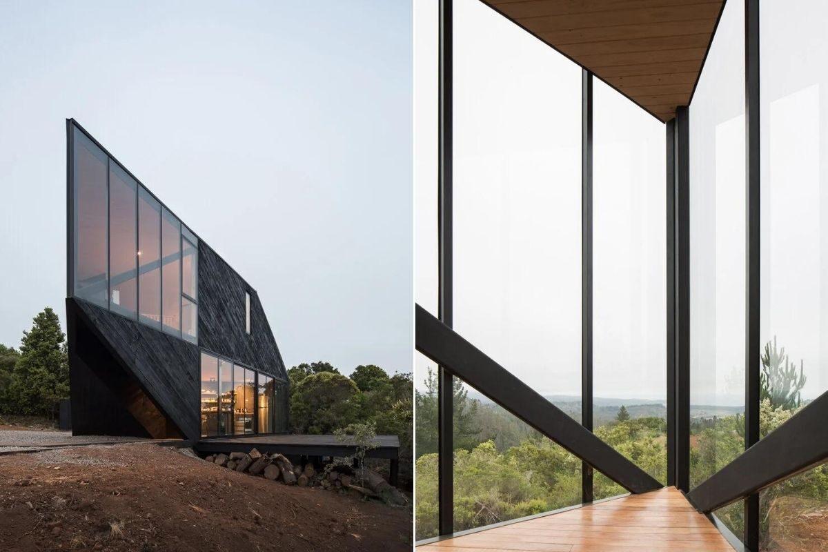 casa angular 2dm arquitetos chile foto 10