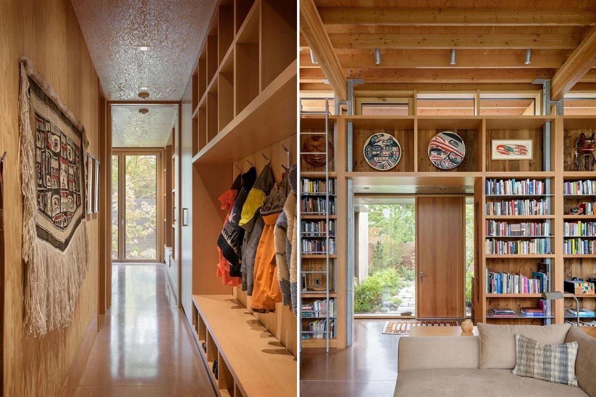 casa de madeira exposta e vidro olson kunding foto 8