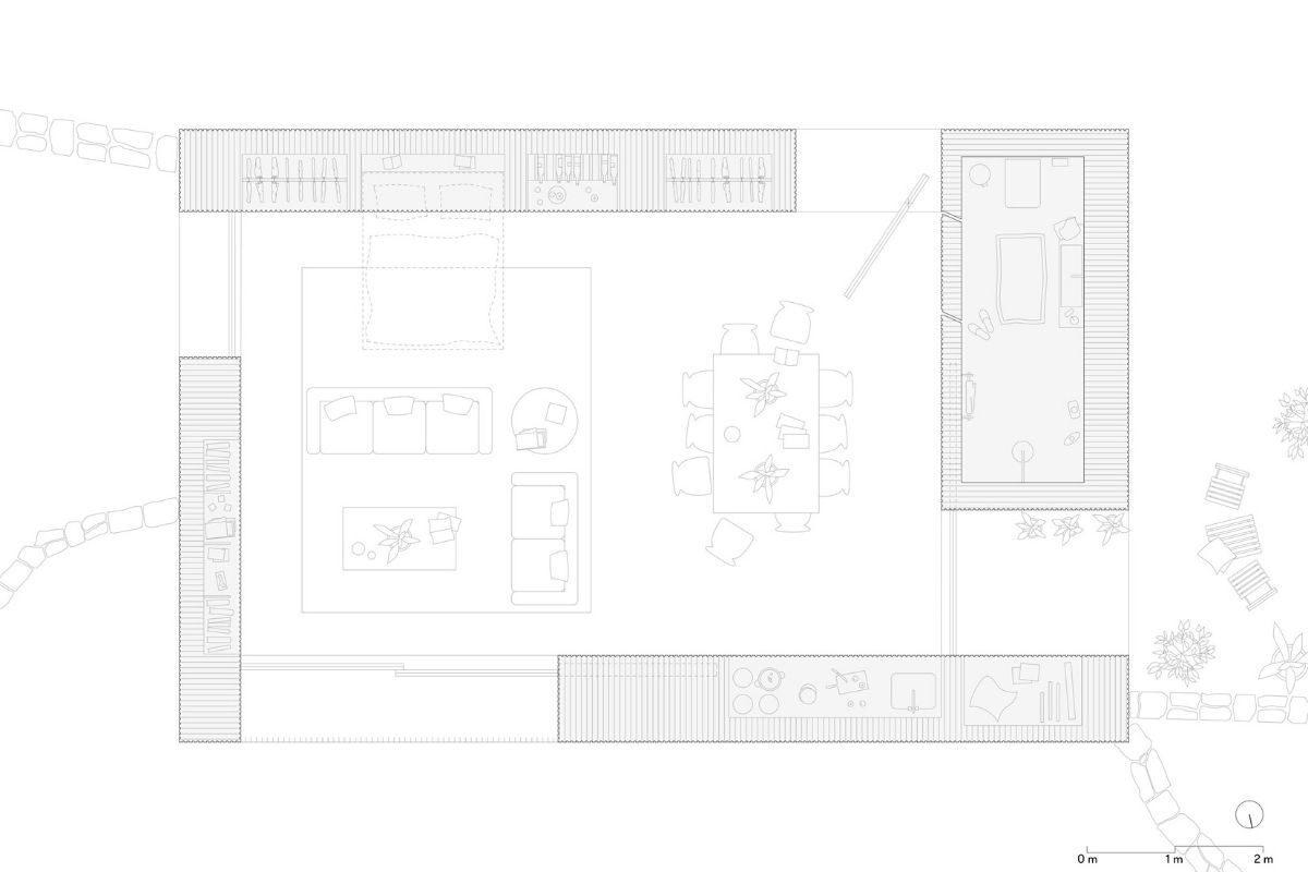 casa de madeira minimalista portugal foto 10
