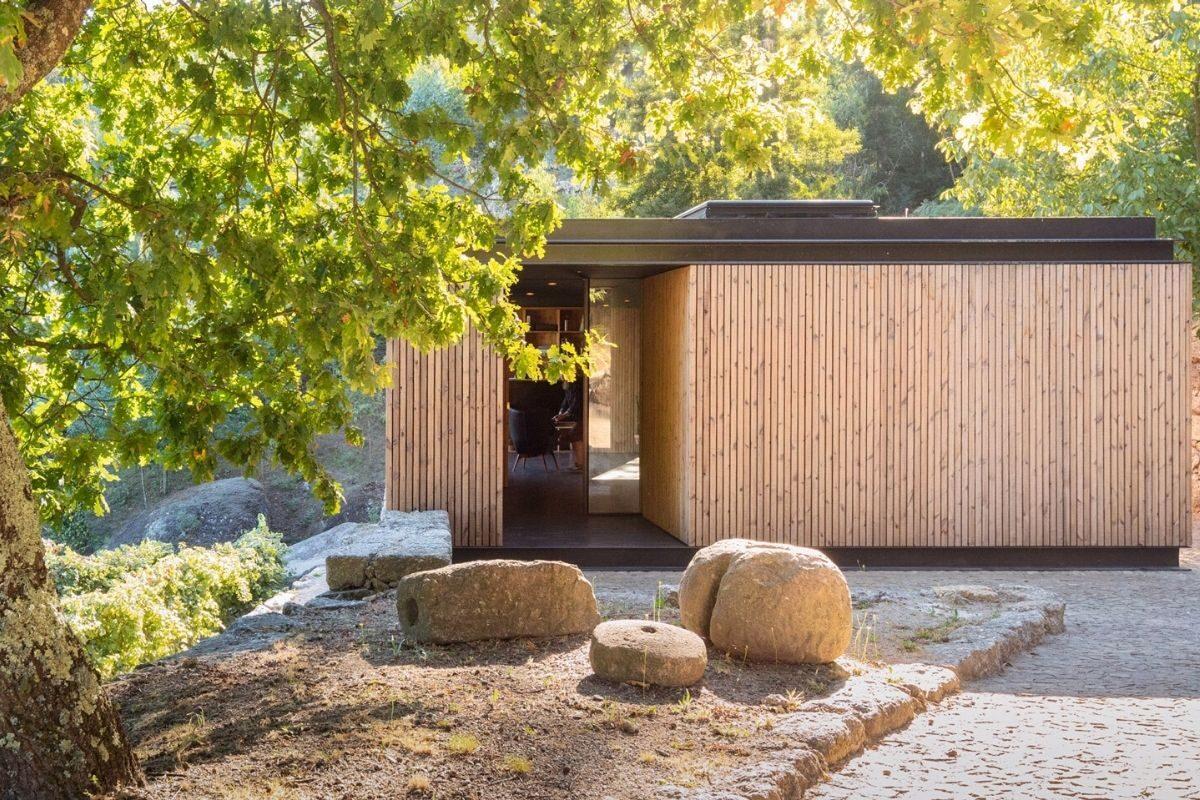 casa de madeira minimalista portugal foto 3
