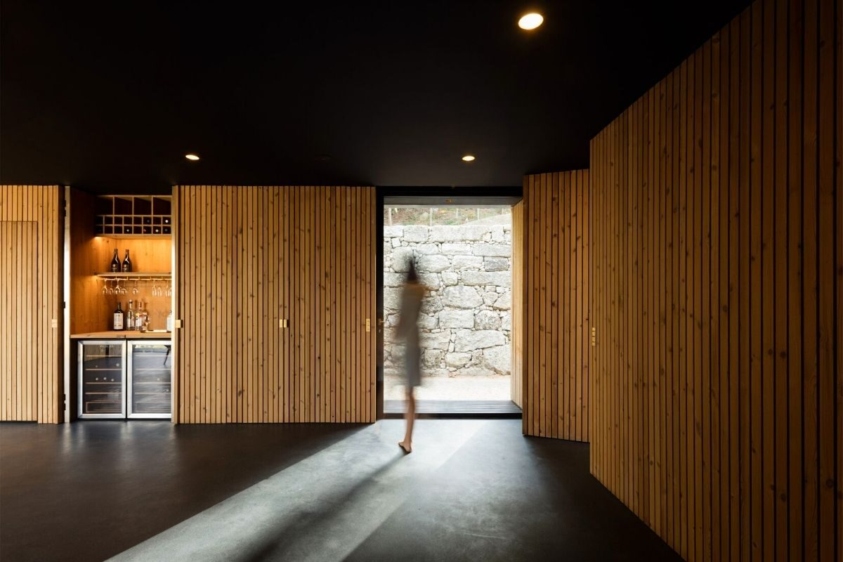 casa de madeira minimalista portugal foto 6