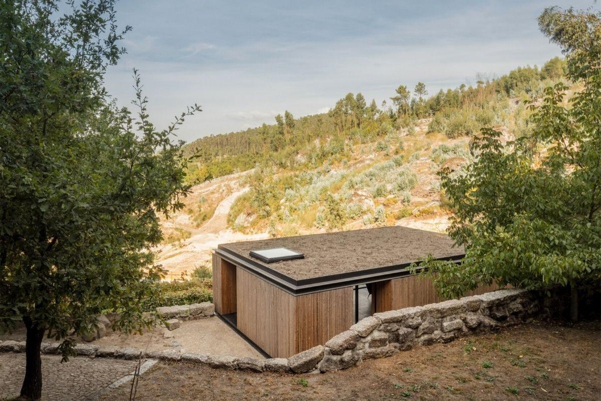 casa de madeira minimalista portugal foto 7