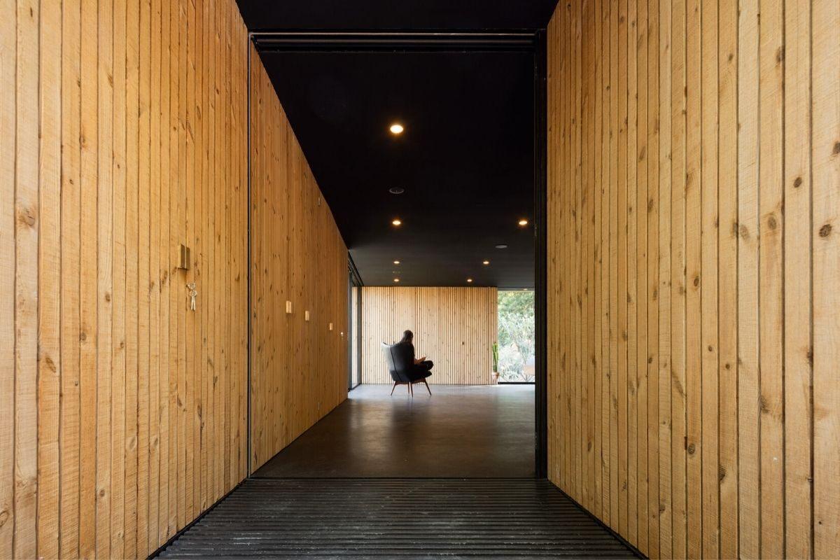 casa de madeira minimalista portugal foto 8