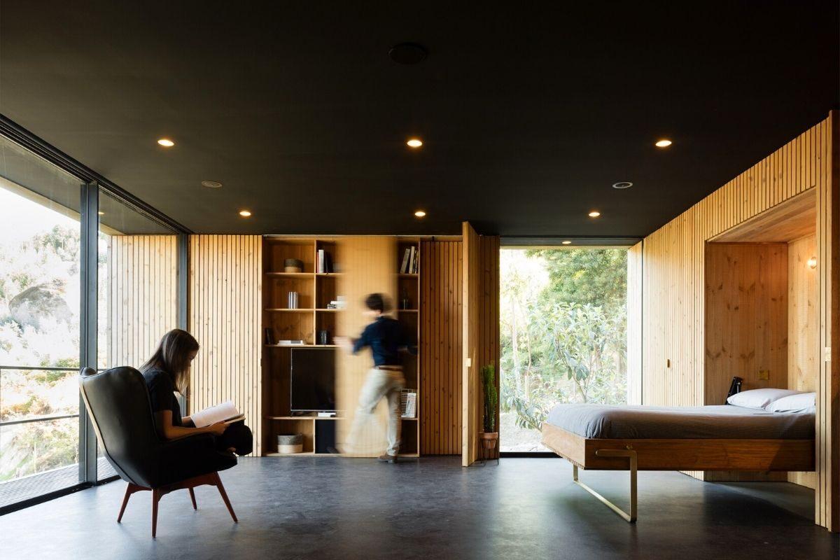 casa de madeira minimalista portugal foto 9
