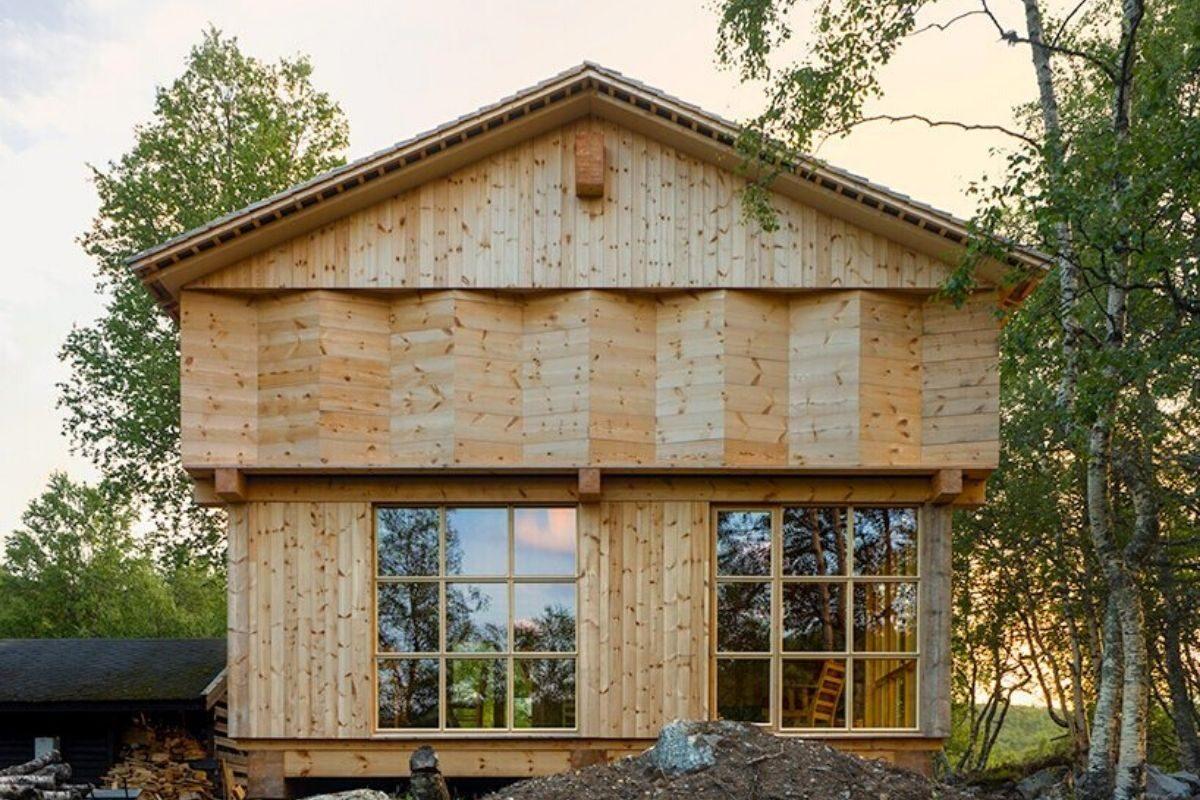 casa de madeira norueguesa knut folstad foto 2