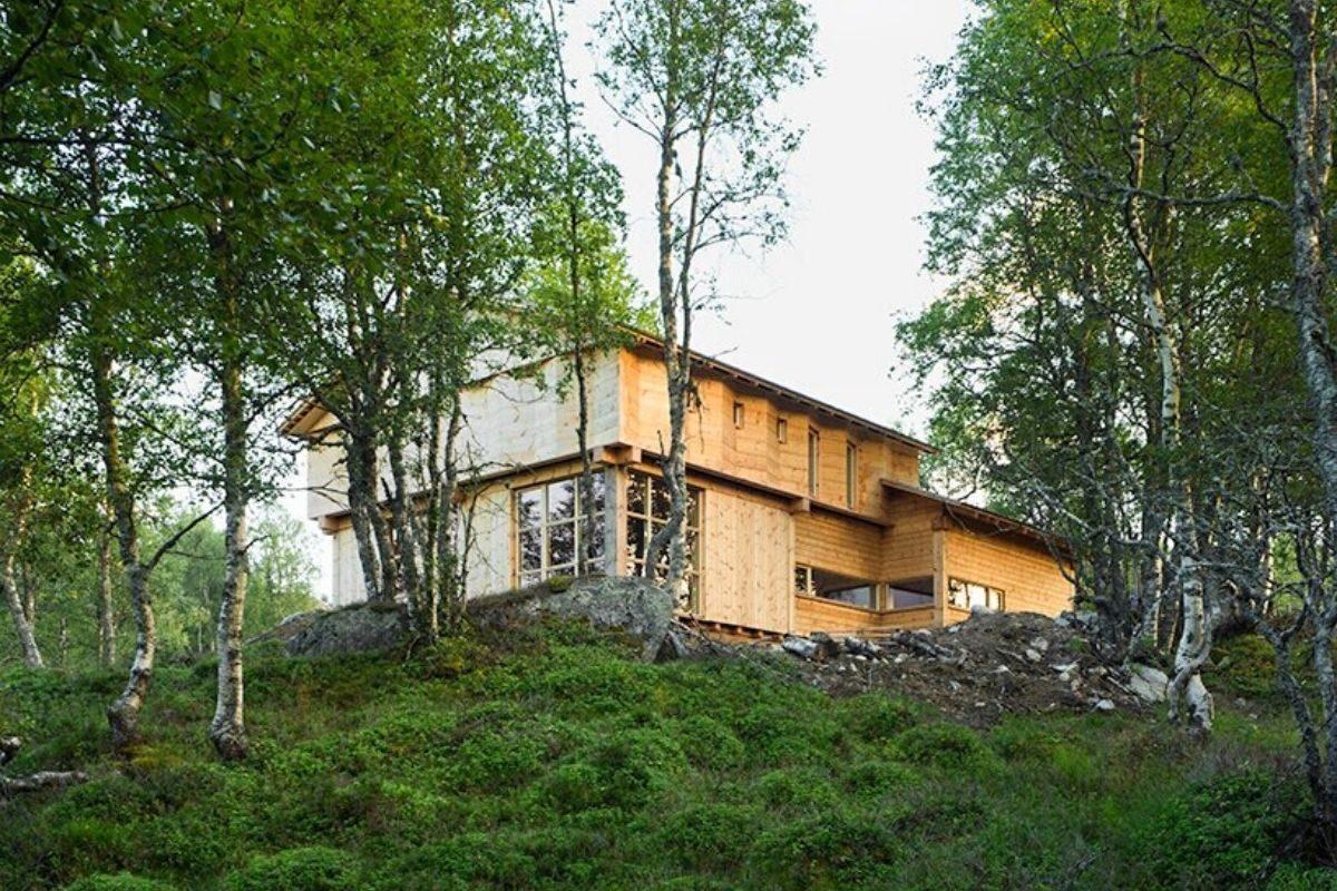 casa de madeira norueguesa knut folstad foto 3
