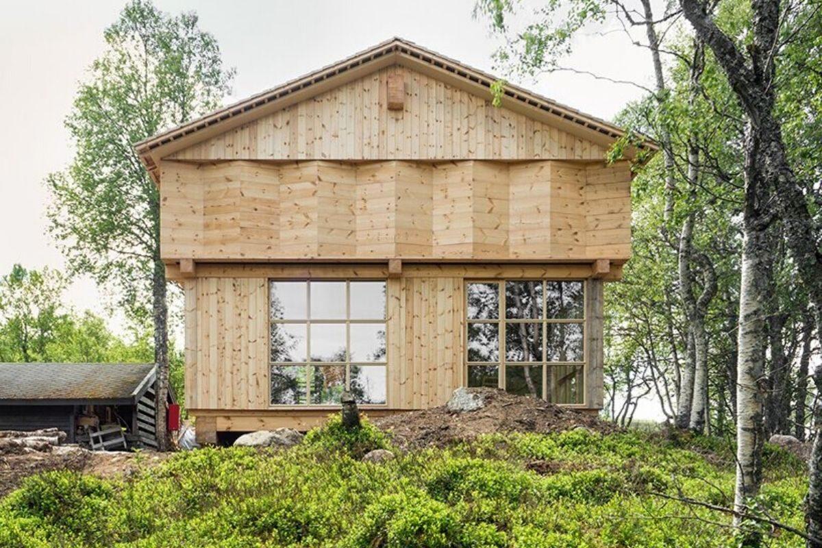 casa de madeira norueguesa knut folstad foto 4