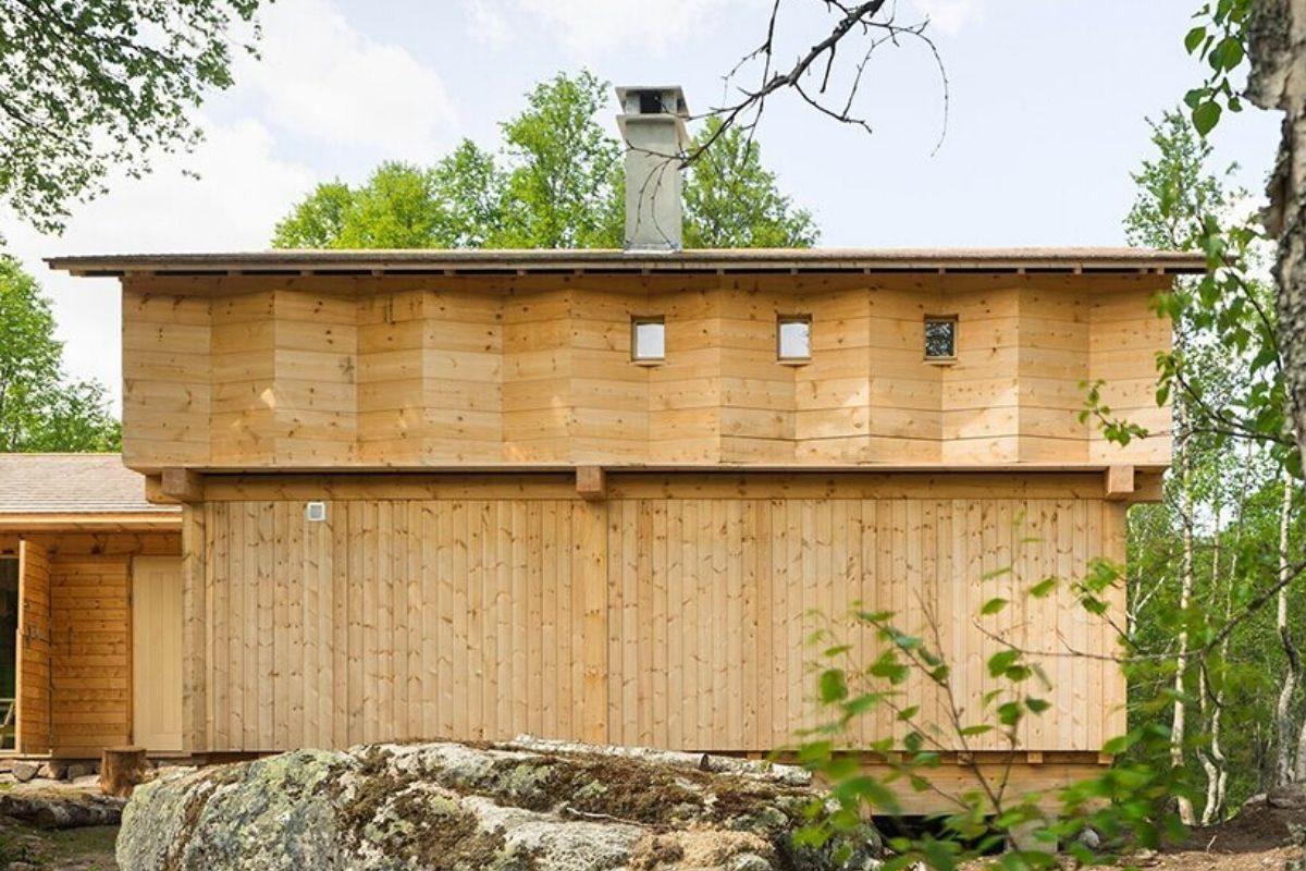 casa de madeira norueguesa knut folstad foto 5