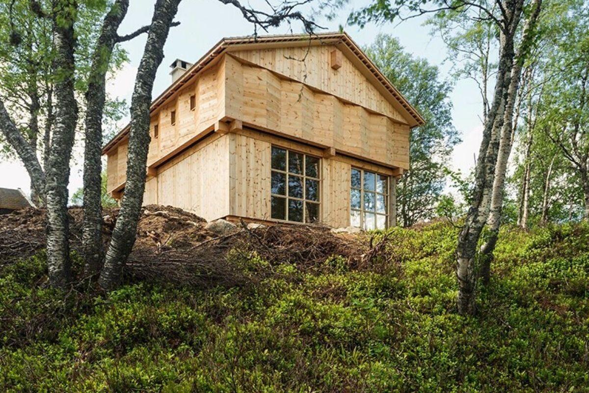 casa de madeira norueguesa knut folstad foto 6