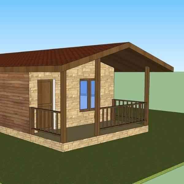 casa de madeira portugal casema modelo vm1070
