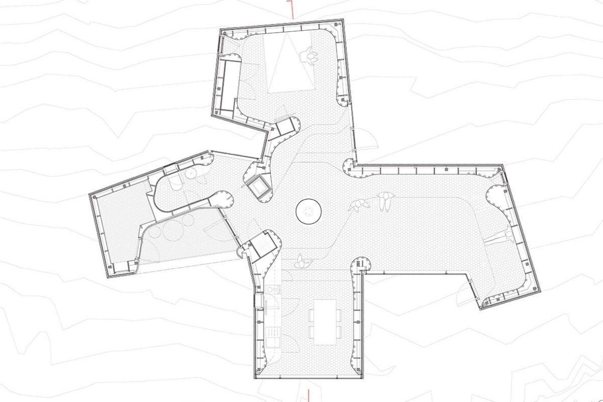 casa de madeira revestida em basalto atelier oslo projeto 1