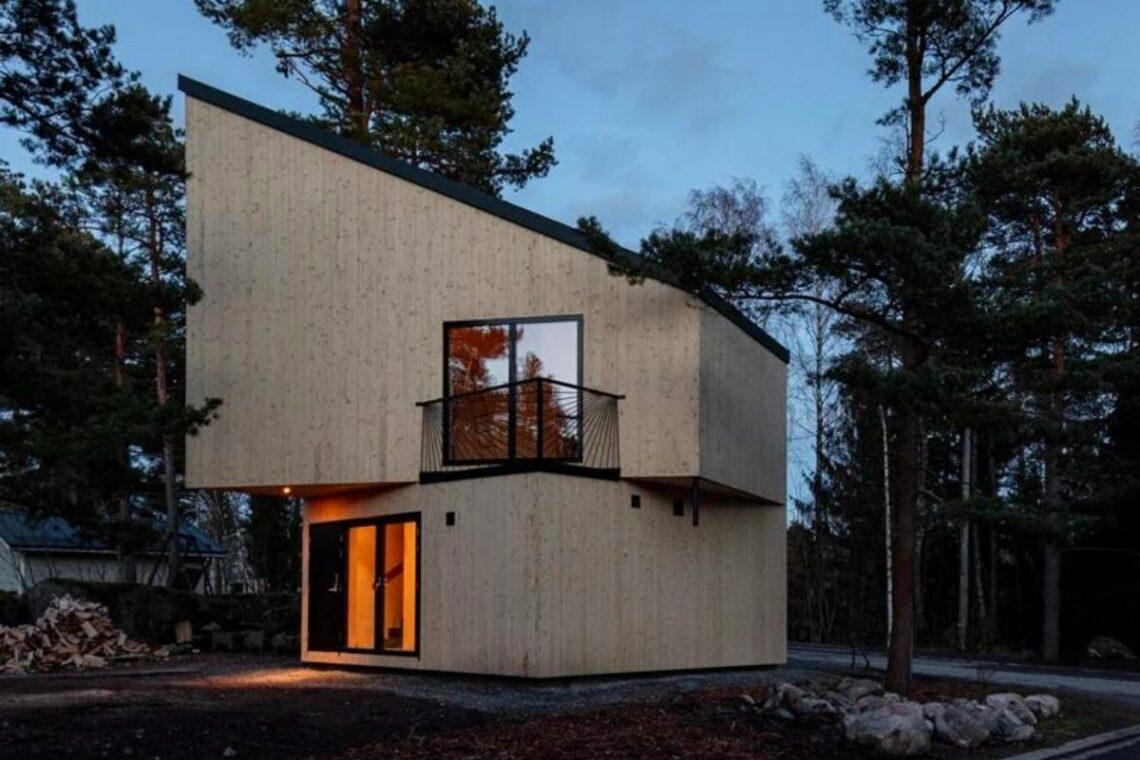 casa geométrica 12 ORTRAUM foto