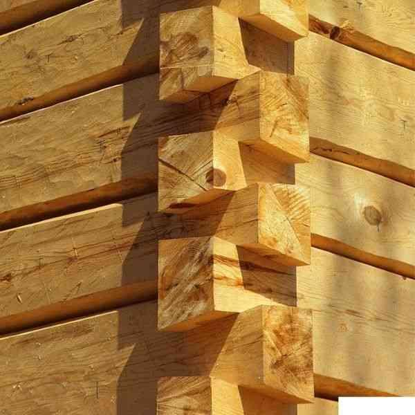 junta rabo de andorinha em casas de toras e troncos