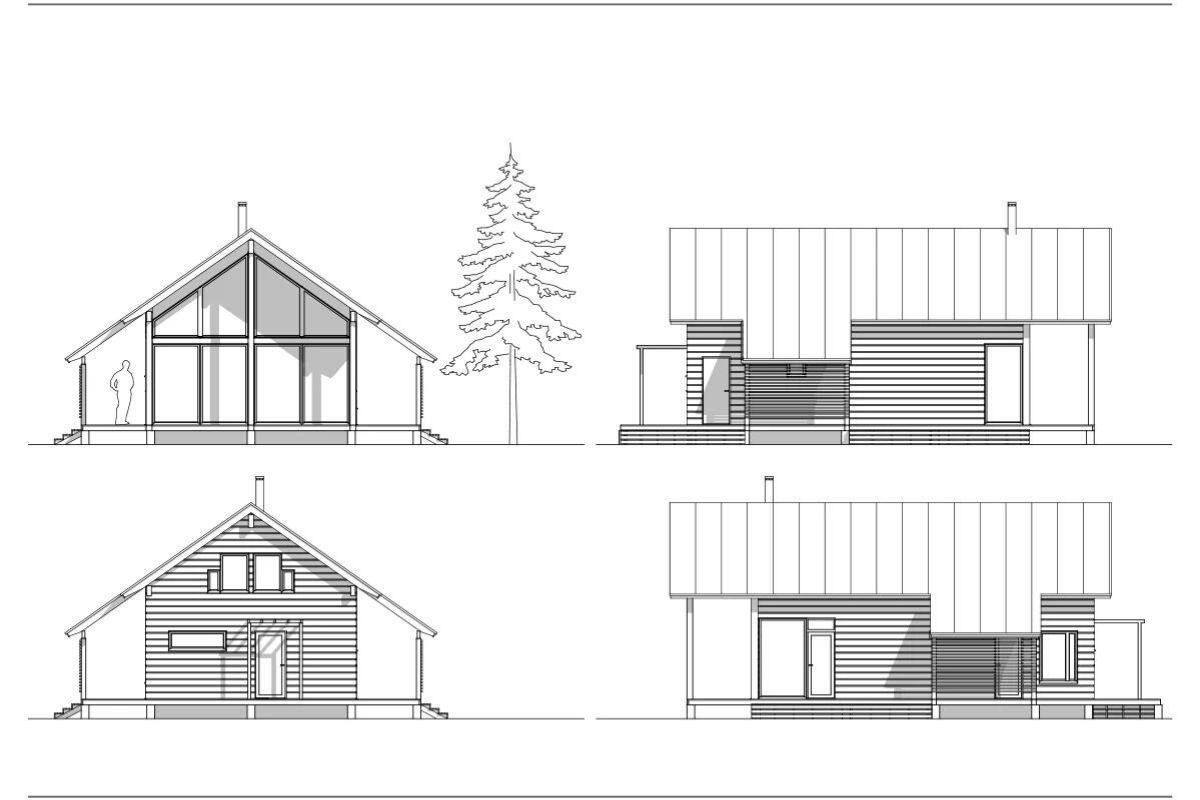 log house moderna pluspuu projeto 1