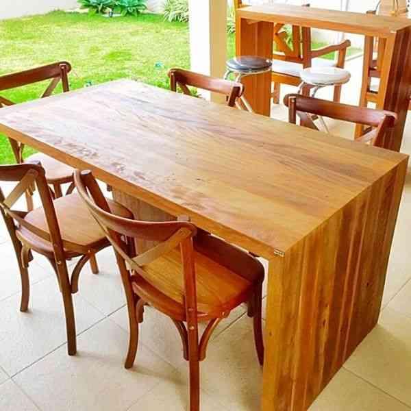 perobinha mesa e cadeiras