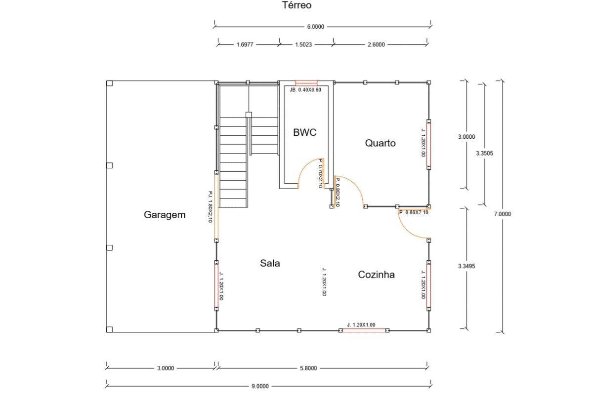 46 Modelo Paranapanema de 115,50M² 1