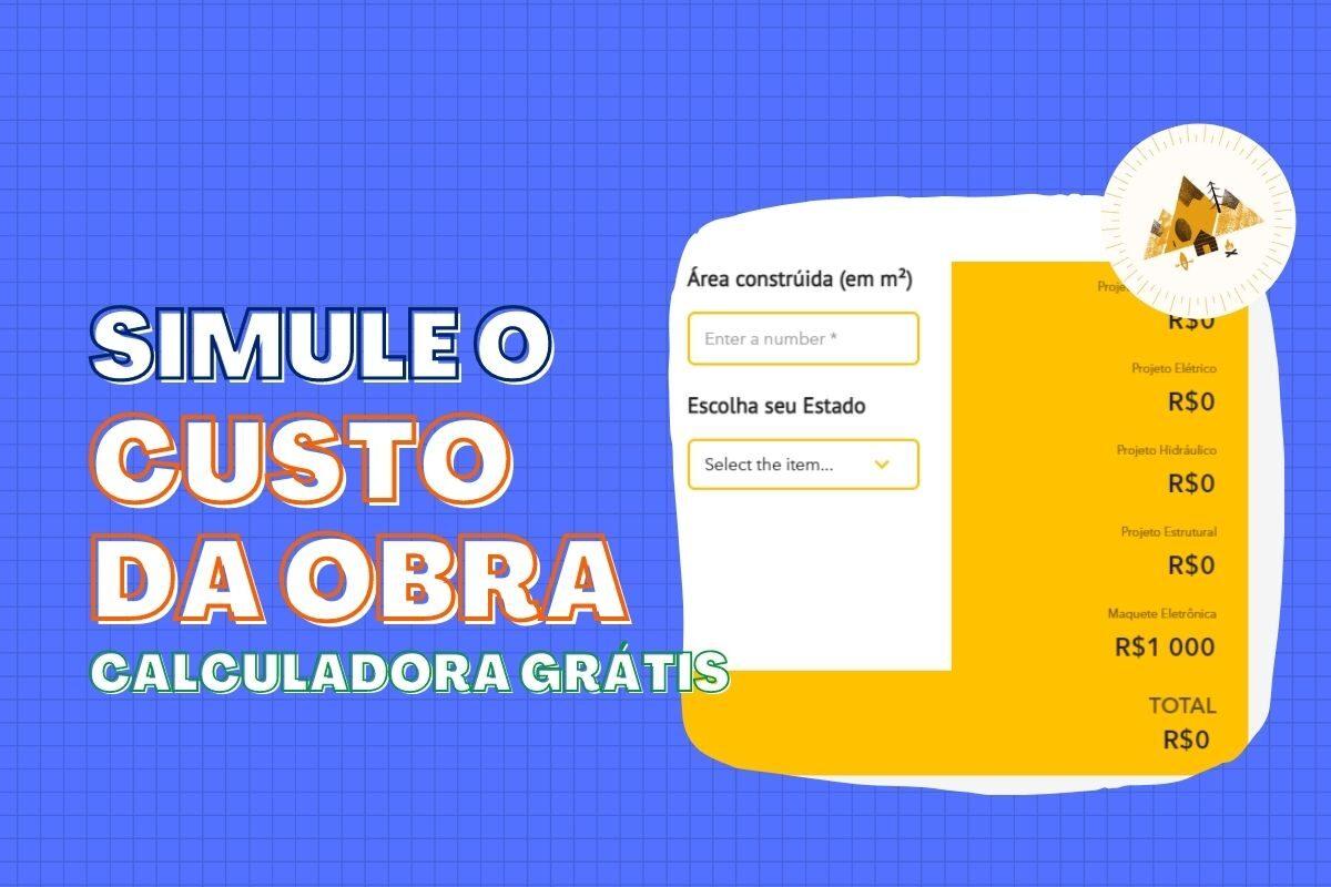SIMULADOR CUSTO OBRA