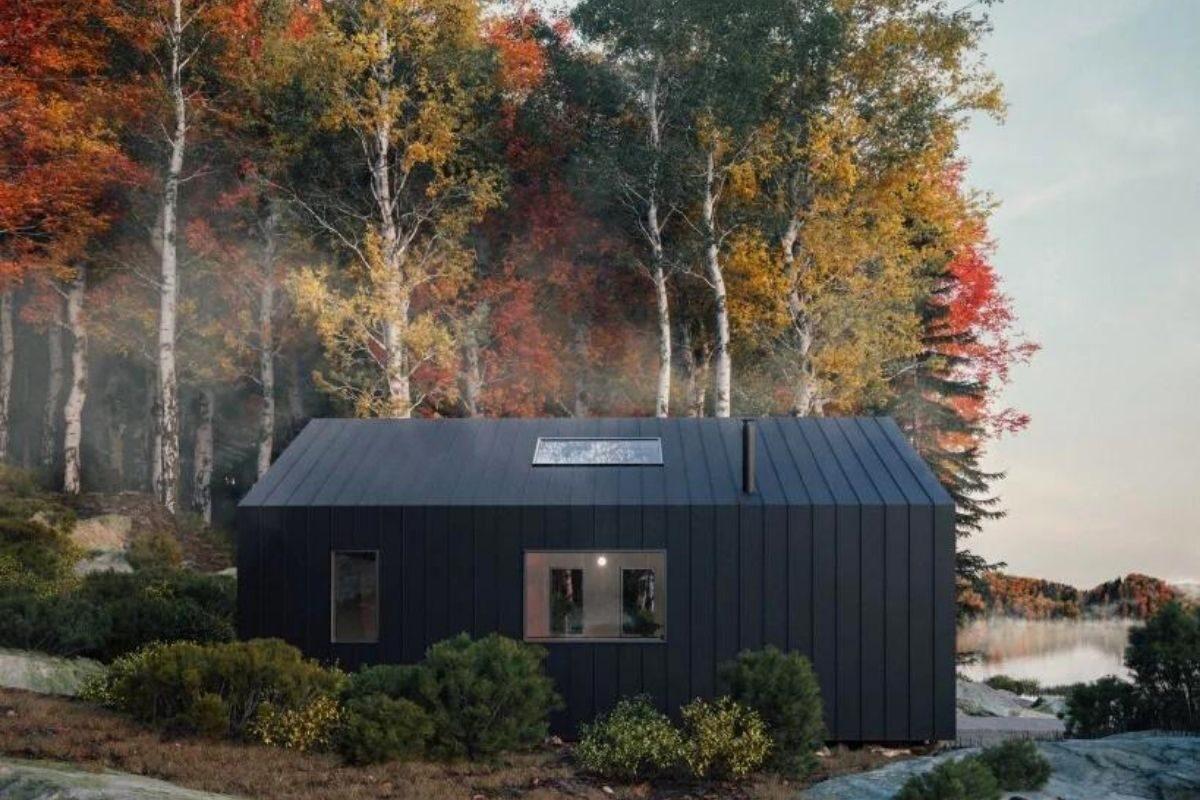 cabana de madeira pronta para montar foto 4