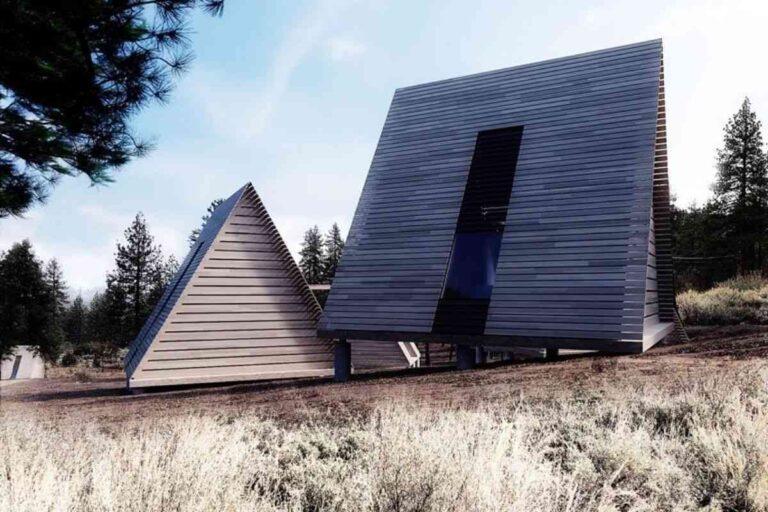 Projeto de camping espetacular conta com dezenas de chalés de madeira