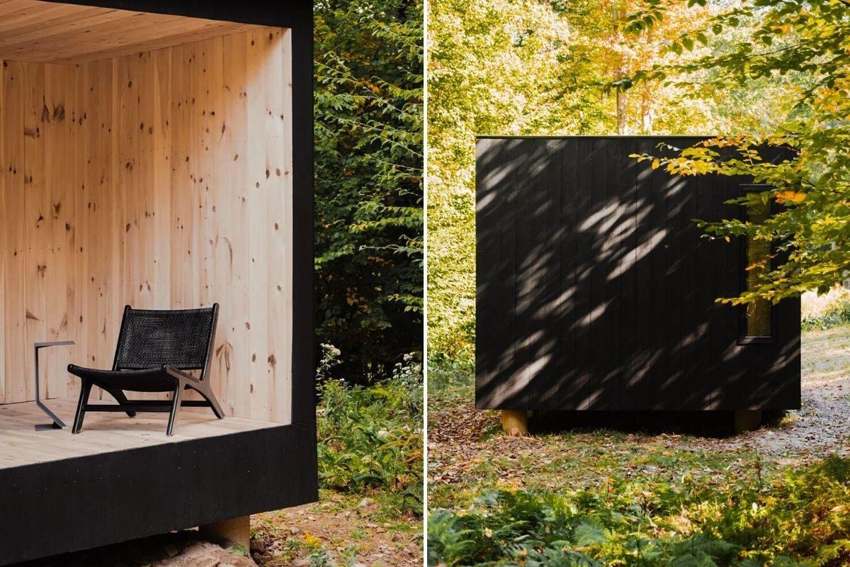 casa cubo de madeira mtd foto 13