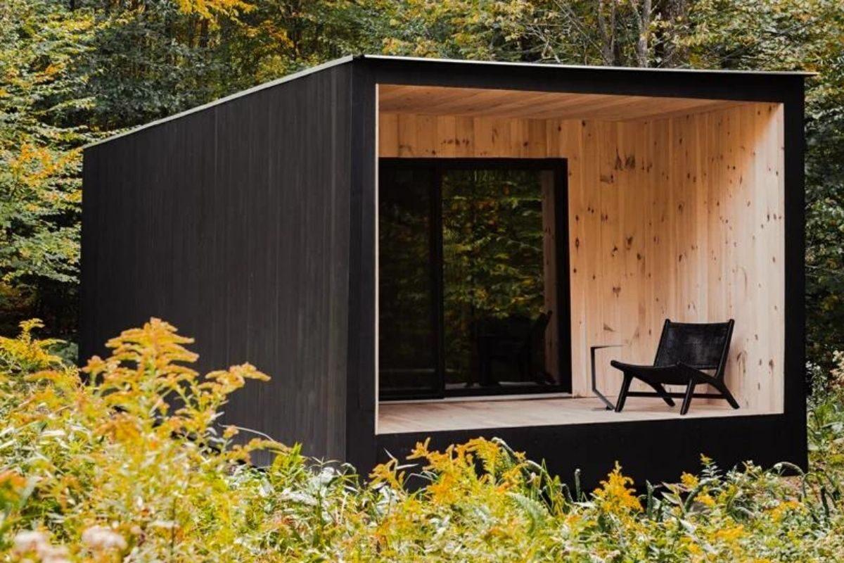 casa cubo de madeira mtd foto 7