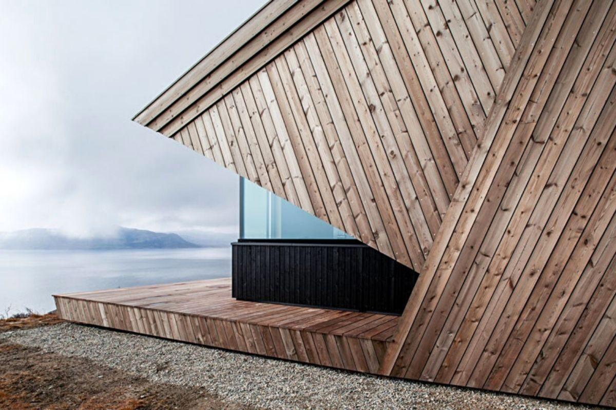 casa de madeira clima extremo foto 1