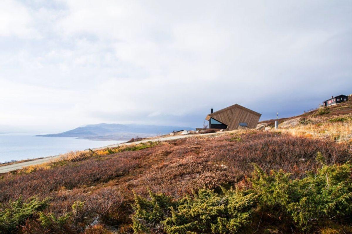 casa de madeira clima extremo foto 2