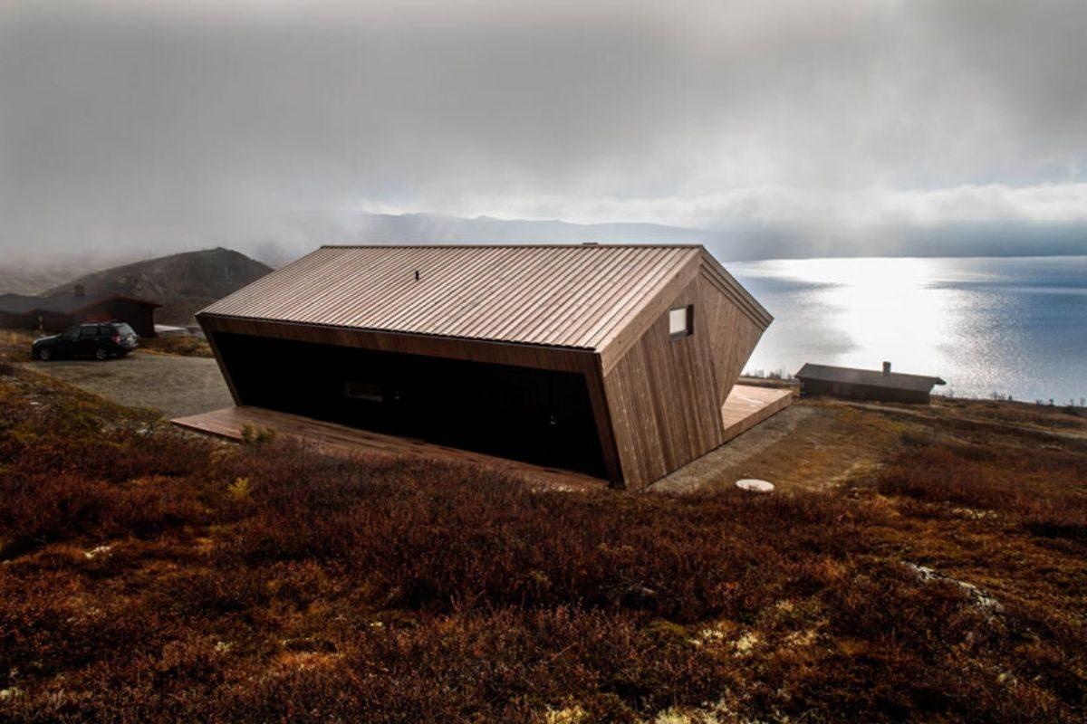 casa de madeira clima extremo foto 3
